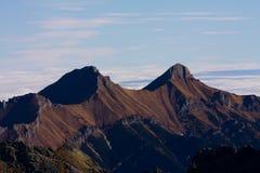 Montagnes de Tatra dans l'automne Photo stock