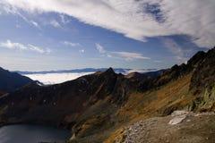 Montagnes de Tatra dans l'automne Photo libre de droits