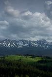 Montagnes de Tatry Photo stock