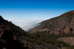 Montagnes de Tenerife Photos libres de droits