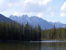 Montagnes de Teton Image libre de droits