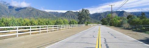 Montagnes de Topa Topa Photographie stock libre de droits