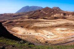 Montagnes de Topo DA Coroa de Santo Antao Image libre de droits
