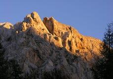 Montagnes de Triglav Photographie stock libre de droits