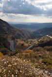 Montagnes de Trodos. La Chypre. Photo libre de droits