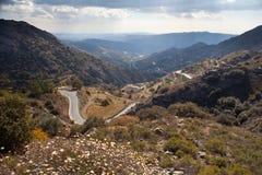 Montagnes de Trodos. La Chypre. Photos libres de droits