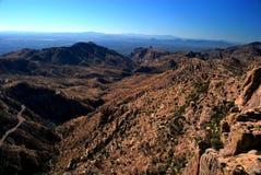 Montagnes de Tucson Photos stock