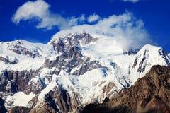 Montagnes de Tuomuer Image libre de droits