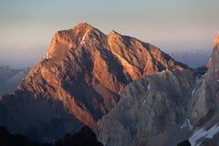 Montagnes de ventilateur Photo libre de droits