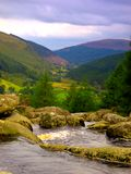 Montagnes de Wicklow Photos stock