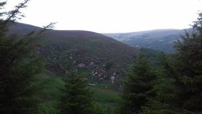 Montagnes de Wicklow Photographie stock libre de droits