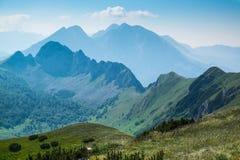 Montagnes de Zelengora Photographie stock libre de droits