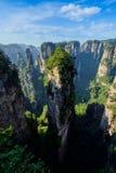 Montagnes de Zhangjiajie, Chine photographie stock libre de droits