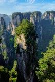 Montagnes de Zhangjiajie, Chine image libre de droits