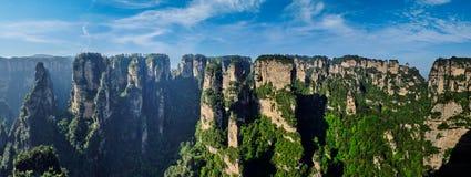 Montagnes de Zhangjiajie, Chine photo stock