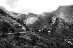 Montagnes des Îles Canaries Photographie stock libre de droits