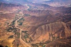 Montagnes des Andes Photos libres de droits