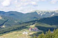 Montagnes des Carpathiens Images stock