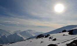 Montagnes du Cachemire Images libres de droits
