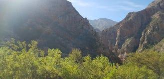 Montagnes du Cap-Occidental photo stock