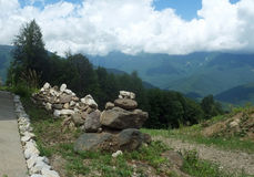 Montagnes du Caucase 11 Photo libre de droits