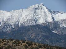 Montagnes du Colorado Images libres de droits