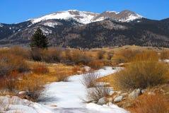 Montagnes du Colorado Photo stock