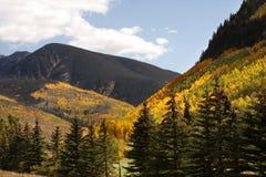 Montagnes du Colorado Photos libres de droits