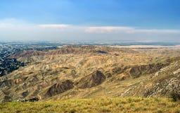 Montagnes du Kirghizistan du sud Photo libre de droits