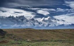 Montagnes du Kirghizistan du sud Photo stock