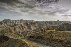 Montagnes du Kirghizistan du sud Photos libres de droits