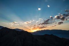Montagnes du Kyrgyzstan Photographie stock