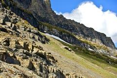 Montagnes du Montana Photo libre de droits