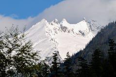 Montagnes du nord de cascade Photographie stock