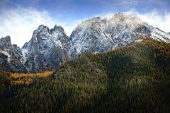 Montagnes du nord de cascade, Washington Image libre de droits