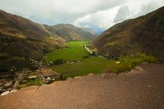 Montagnes du Pérou Images stock