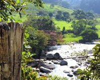Montagnes du ` s d'Antioquia Image stock