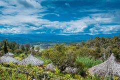 Montagnes du sud Photo stock