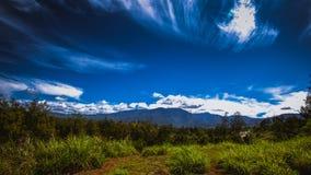 Montagnes du sud Image libre de droits