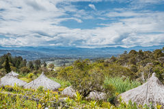 Montagnes du sud Photo libre de droits
