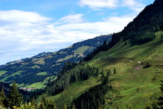Montagnes du Tirol Photographie stock libre de droits