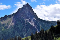 Montagnes du Tirol Images stock