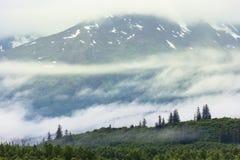 Montagnes en Alaska photos stock