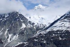 Montagnes en Alaska Photographie stock