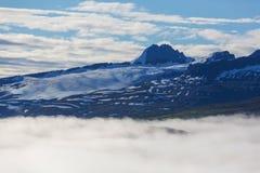 Montagnes en Alaska Photos libres de droits