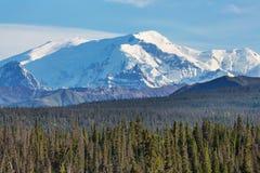 Montagnes en Alaska Image stock