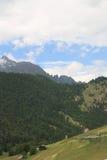 Montagnes en Autriche, année 2009 Photo stock