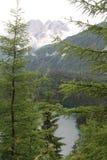 Montagnes en Autriche, année 2009 Image stock