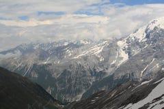 Montagnes en Autriche, année 2009 Photos stock
