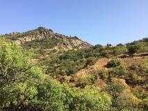 Montagnes en Crimée Photographie stock libre de droits